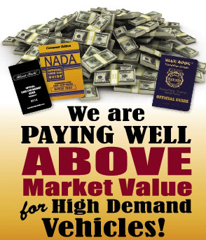 We pay above market value